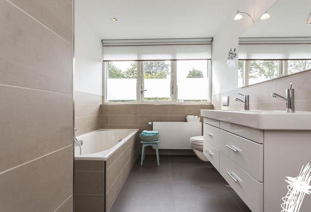 Interieur advies studeerkamer en badkamer tastvol for Interieur advies