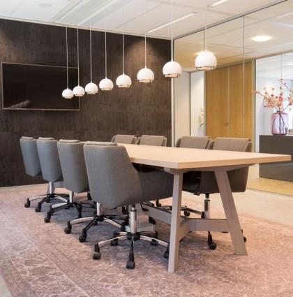Interieurontwerp hoofdkantoor Equipe zorgbedrijf in Eindhoven