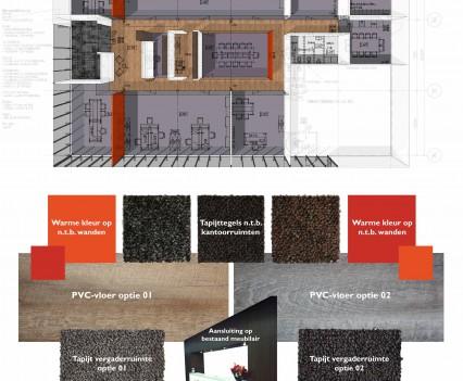 Kleuren en materialen Stichts Beheer