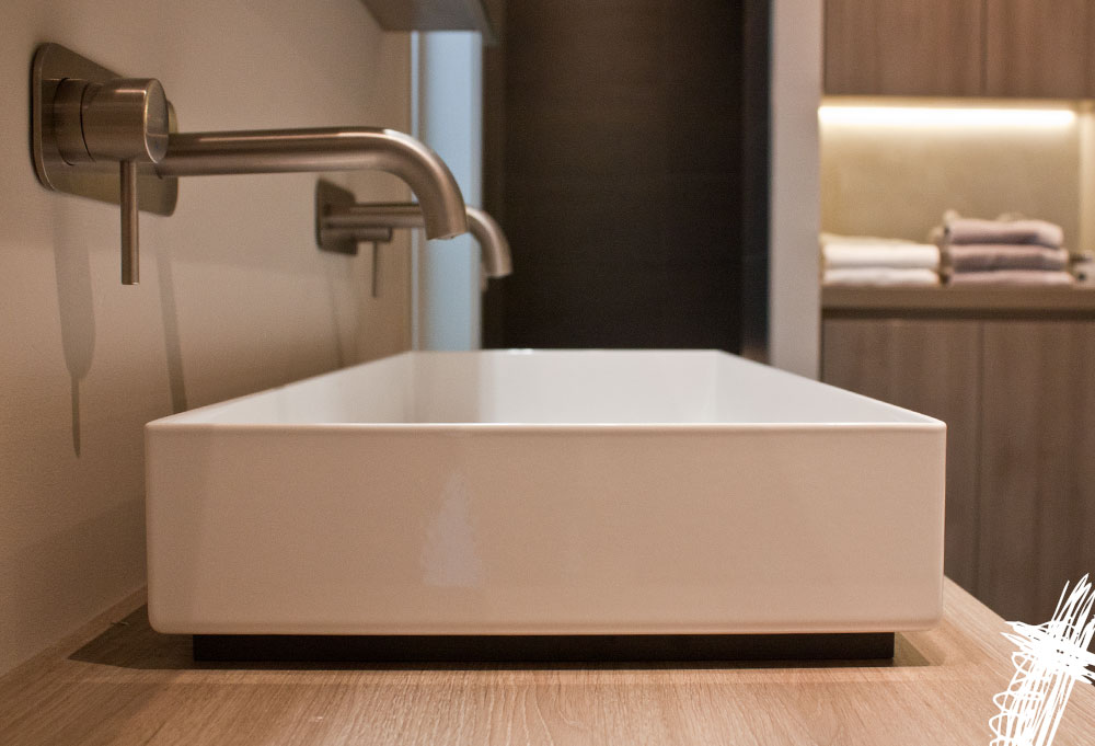 Interieurontwerp villa zwolle tastvol - Sfeer zen badkamer ...