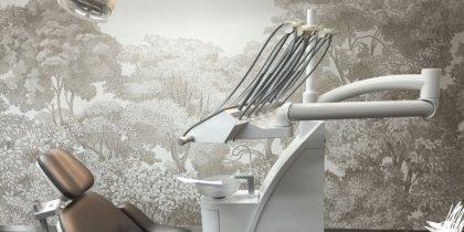 Showroom voorbeeld behandelkamers All Dent