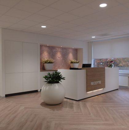 Interieurontwerp nieuw kantoorpand Vicrea in Amersfoort