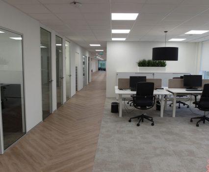 Interieur kantoorpand Vicrea