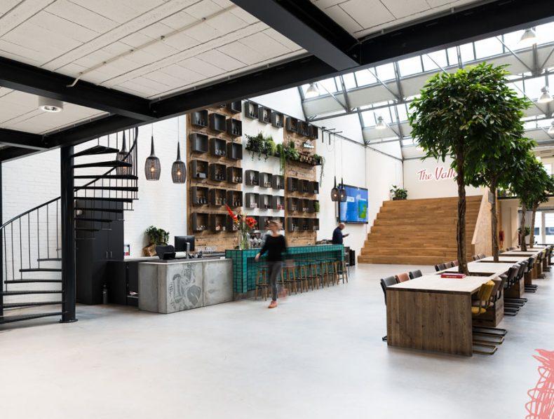 Interieurontwerp industrieel pand voor The Valley Amsterdam
