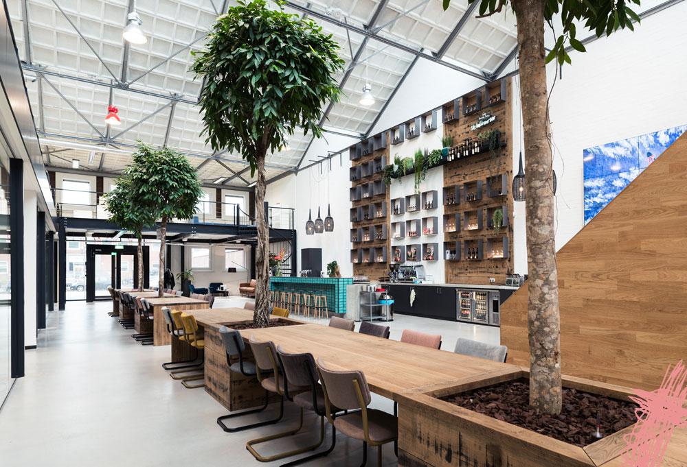 Interieurontwerp industrieel pand voor the valley for Interieurontwerp amsterdam