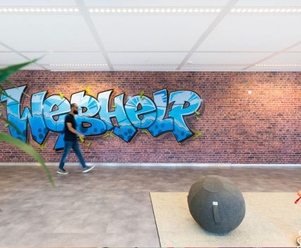 Webhelp graffiti