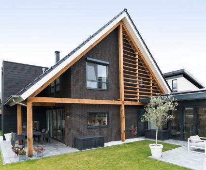 Veranda en uitbouw met extra terras
