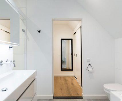 Van badkamer naar kleedkamer